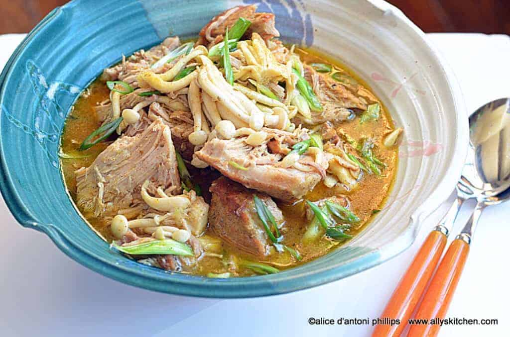 thai red curry lemongrass pork