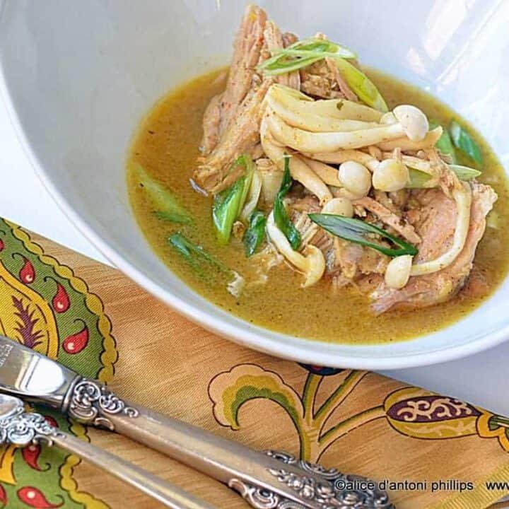 Thai Red Curry Lemongrass Pork