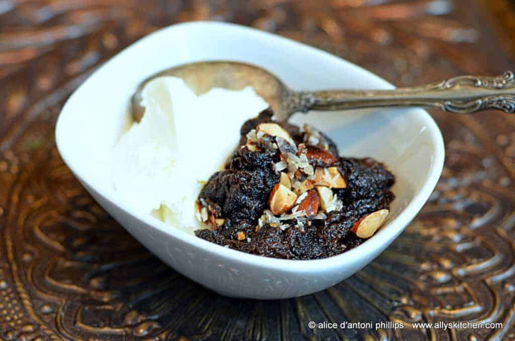~chocolate almond joy spoon cookies~