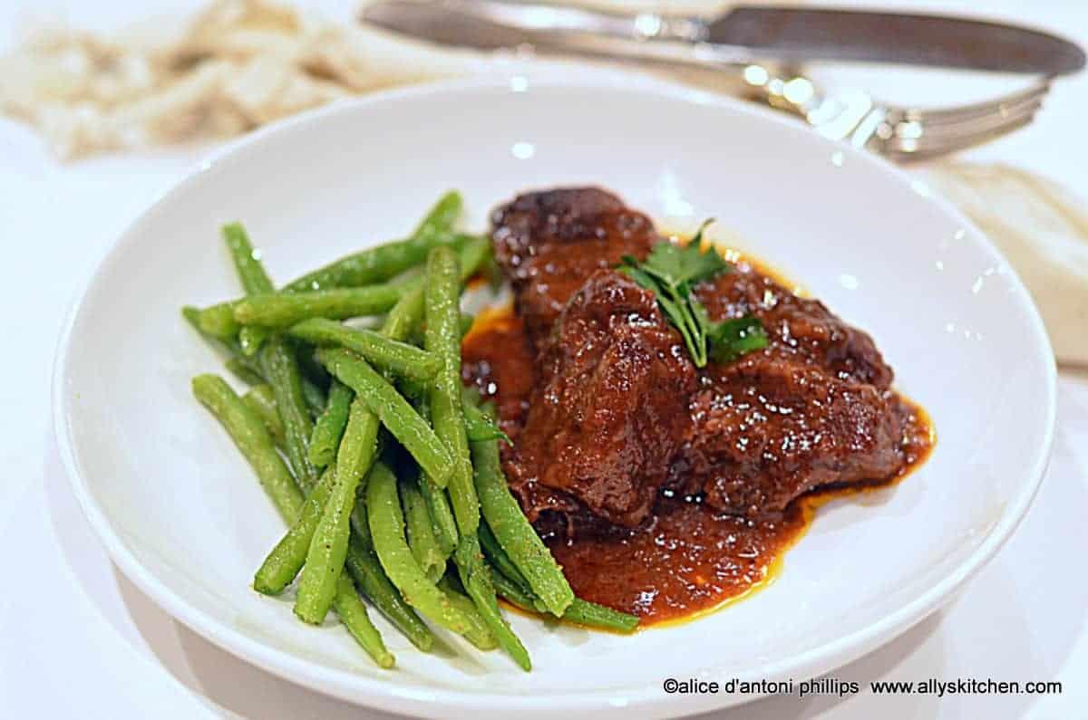 ~dark red cherry boneless beef country-style ribs~