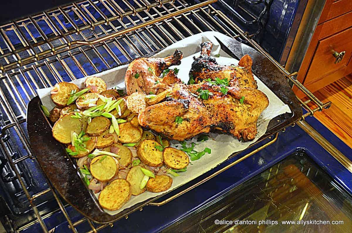 ~butter herb garlic grilled chicken~