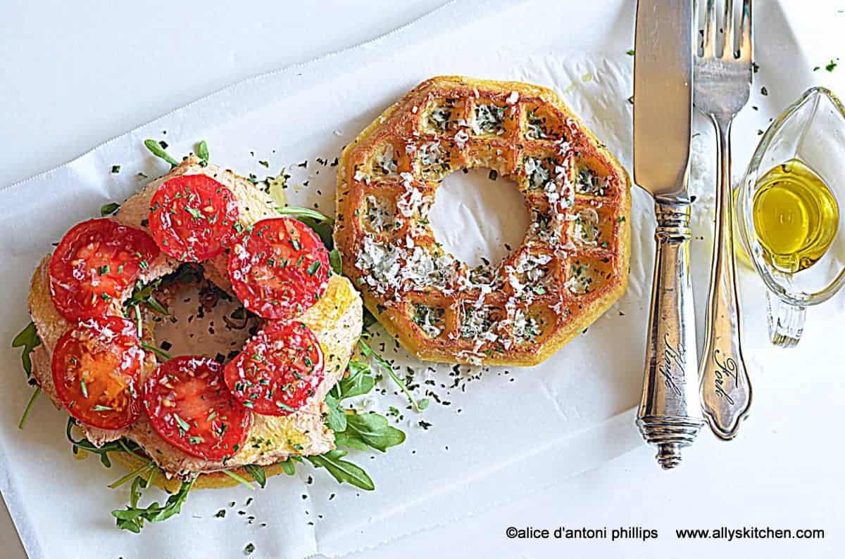 waffle chicken ciambella