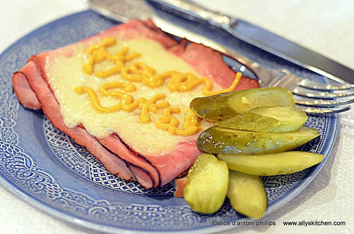 ham & baby swiss on rye