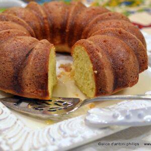 Lemon Whiskey Cake