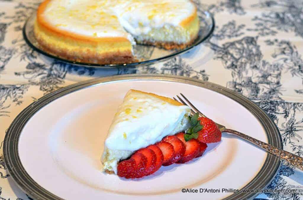~lemon cottage cheesecake~