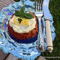 Carrot Pineapple Coconut Cake Tartlets