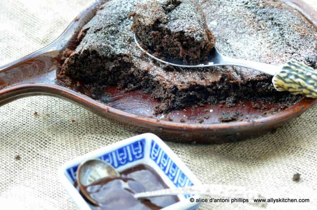 chocolate cowboy flop cake