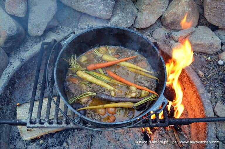 Smoked Ale Campfire Beef Stew