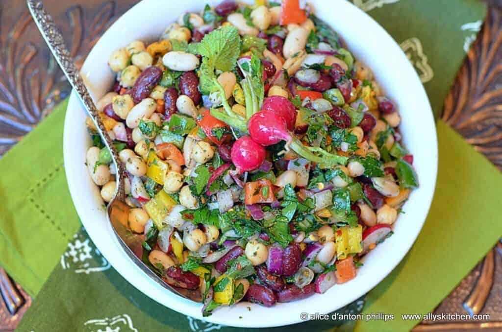 ~spicy bean salad~