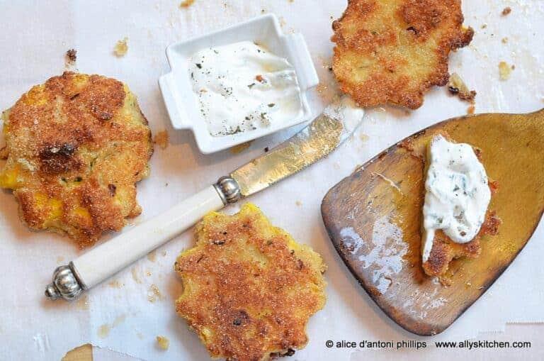 crunchy patty pan squash
