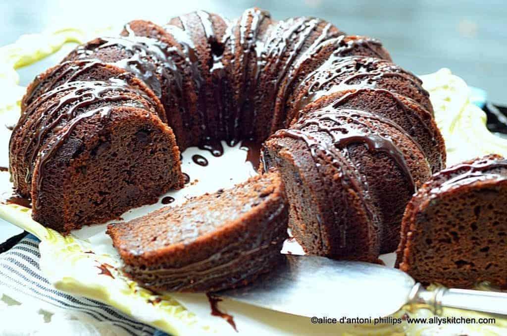 ~chocolate bundt brownie cake~