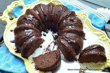 ~chocolate bundt brownie cake~