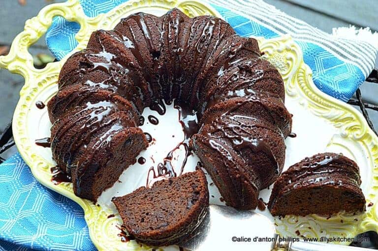 chocolate bundt brownie cake