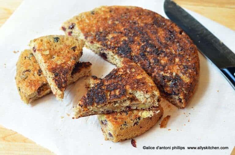 Warm Spiced Skillet Bread