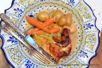 ~new zealand chicken & roasted root vegetables~