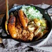 sausage & sauerkraut