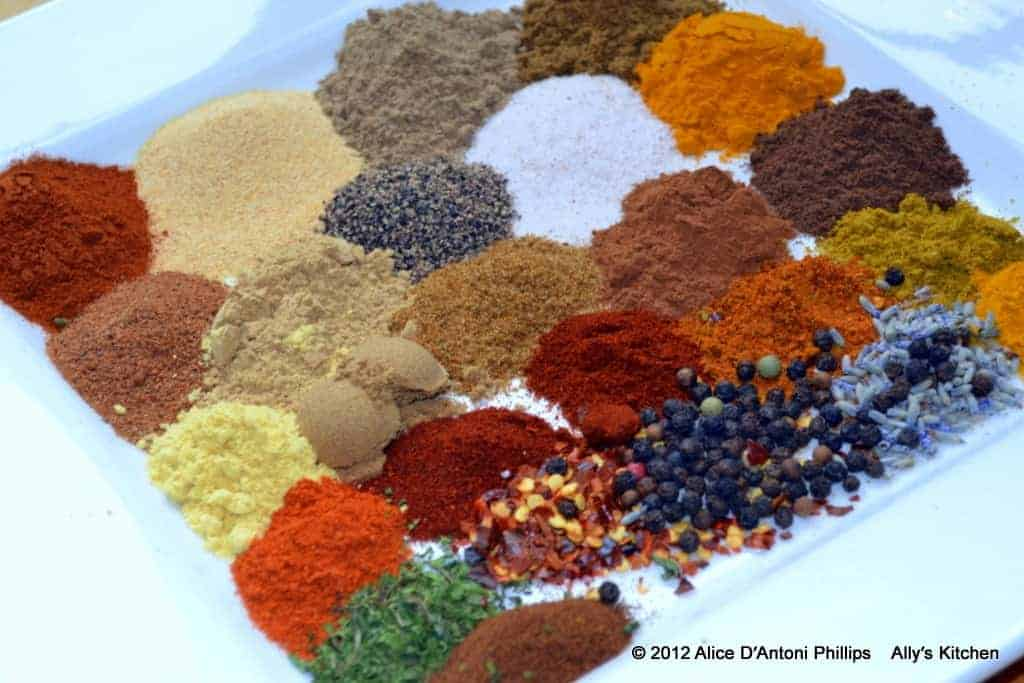 spice mixtures~adventurous palates only
