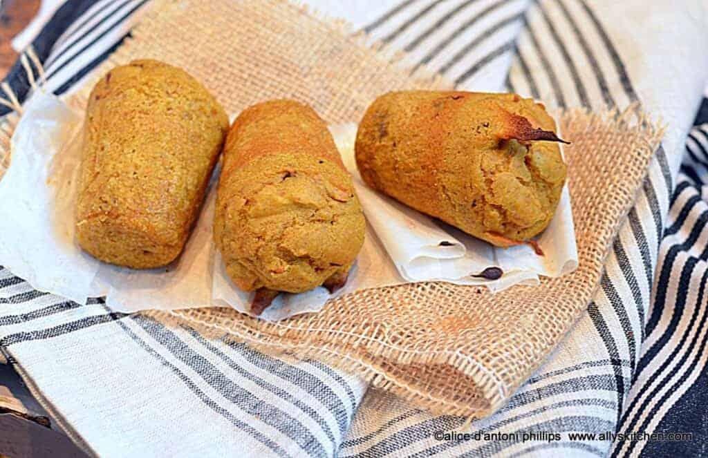 ~buttermilk pumpkin walnut spiced popovers~