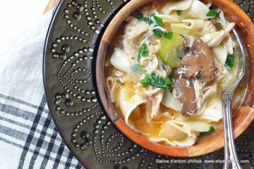 chicken marsala soup