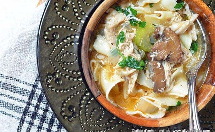 ~chicken marsala soup~