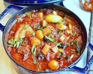 ~beef potatoes & tomatoes~
