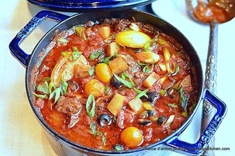 beef potatoes & tomatoes