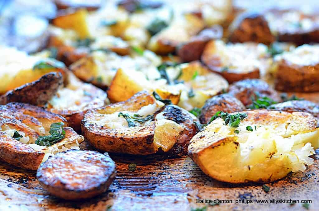 ~ras el hanut potato mashers with fresh mint~