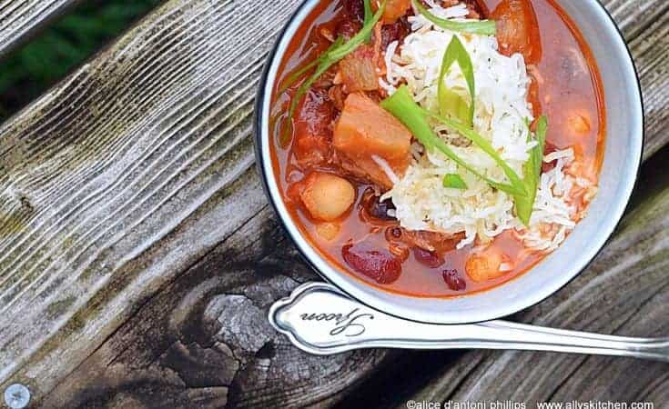 pulled pork green chile chili