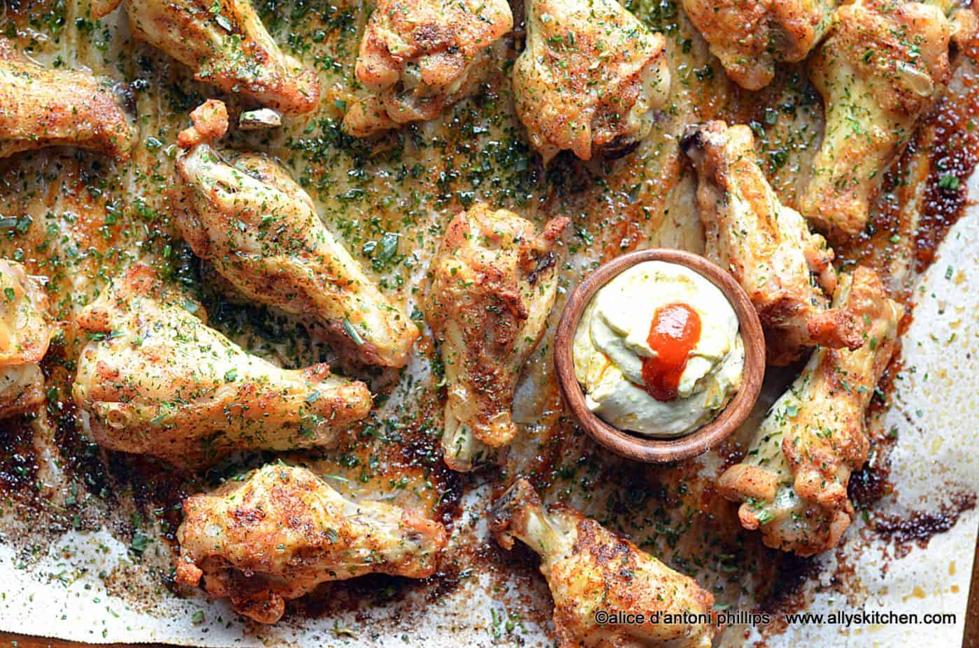 best ever creole chicken wings