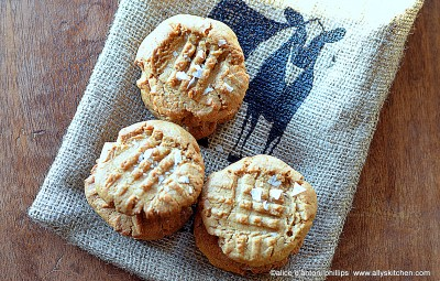 ~biscoff sea salt cookies~
