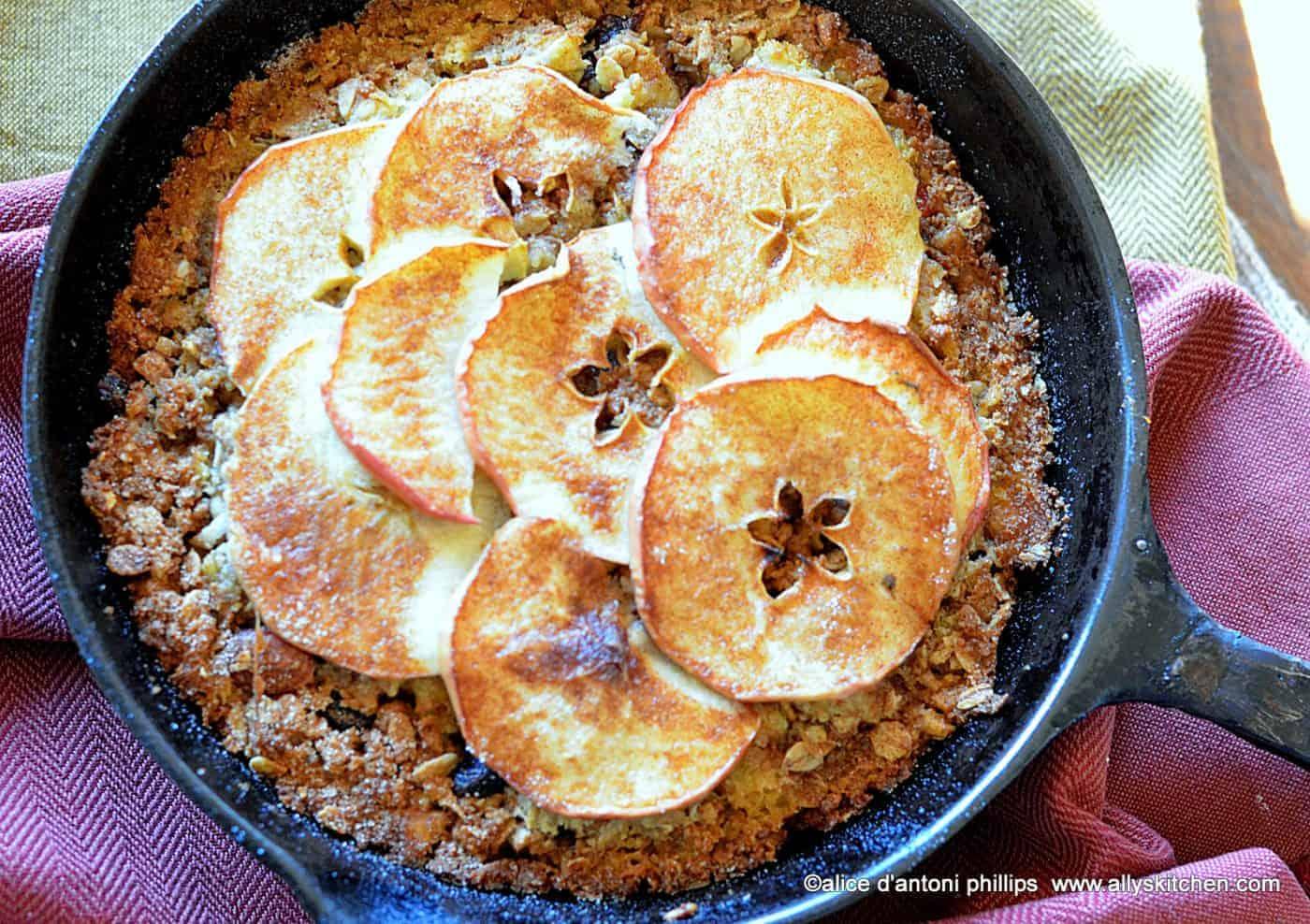 eggo granola apple frittata