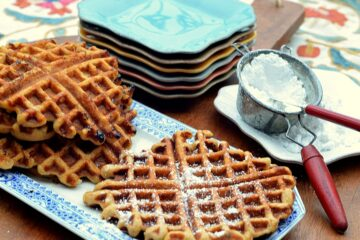 carrot cake waffles