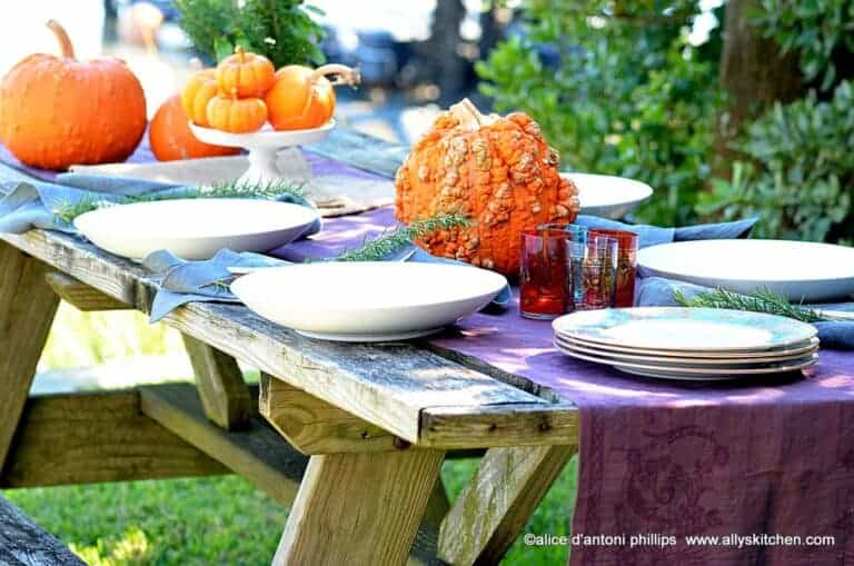 5 tips to boho your fall table