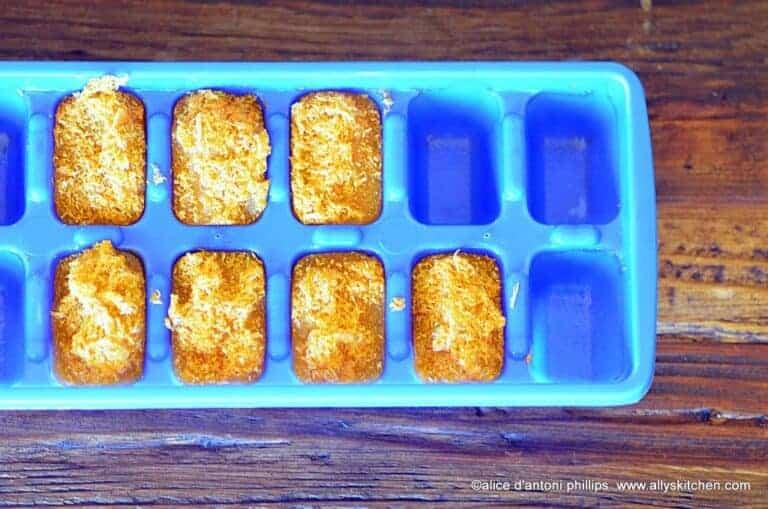 boho carrot ginger seasoning cubes