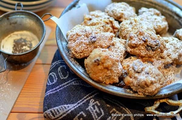 bourbon drenched oatmeal cookies