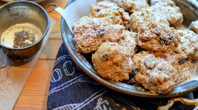 bourbon drenched raisin nut oatmeal cookies