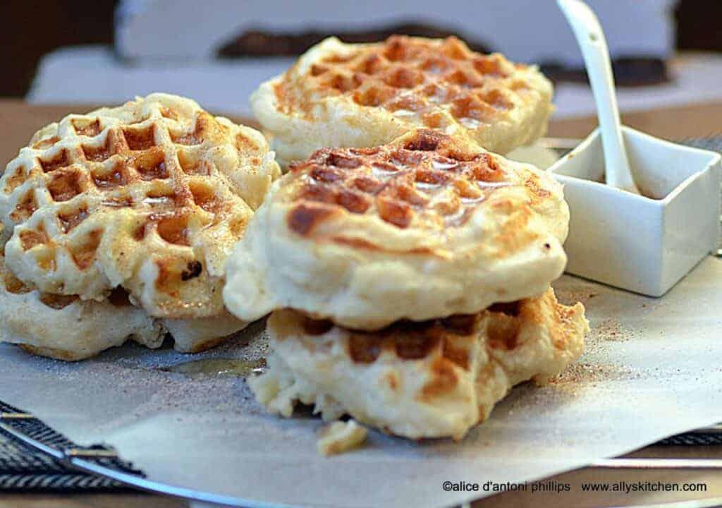 buttermilk biscuit waffles