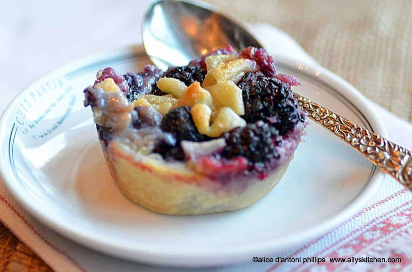 Cupcake Berry Pies