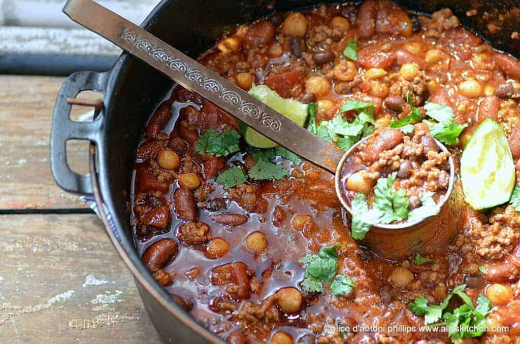 mexican chorizo chili