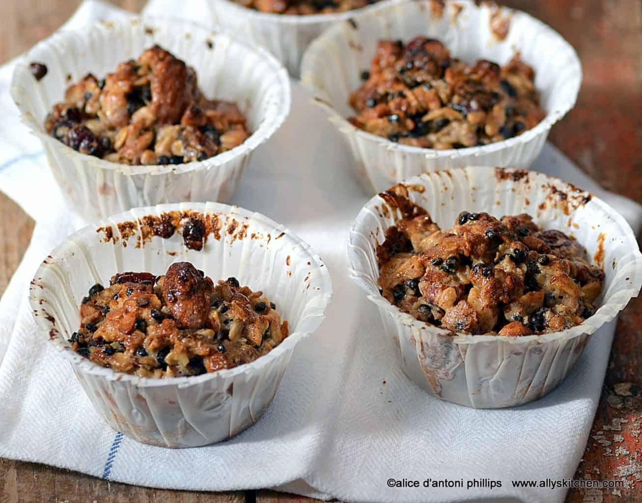 lentil granola cups