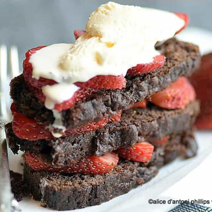 real chocolate lover's cake