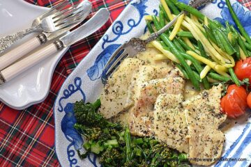 sauteed cod in greek seasoned butter wine sauce