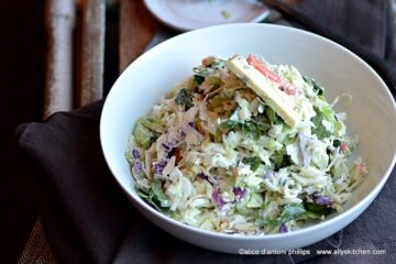 bleu cheese coleslaw