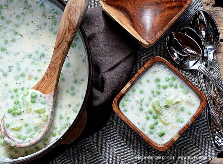 sour cream mashed potato soup