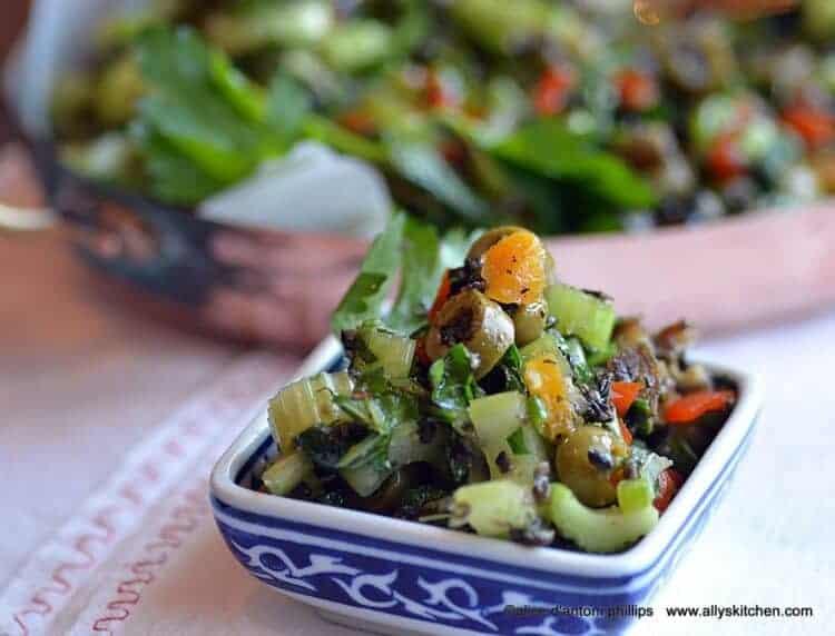 celery olive salad
