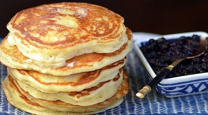 coconut crème pancakes
