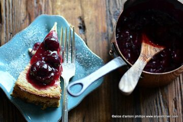 cherry limeade cheesecake