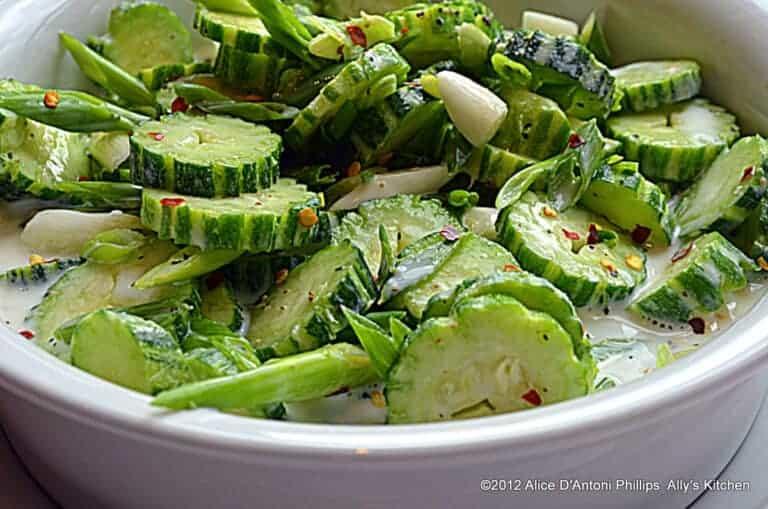 armenian cucumber buttermilk salad