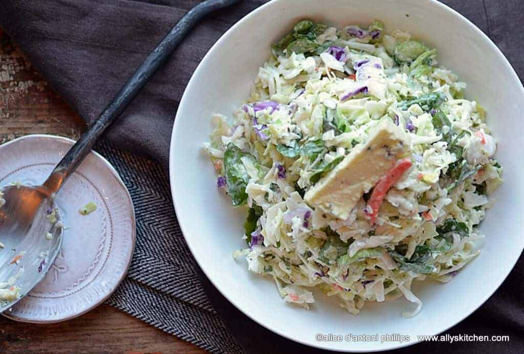 https://allyskitchen.com/apple-buttermilk-mint-bleu-cheese-walnut-salad/