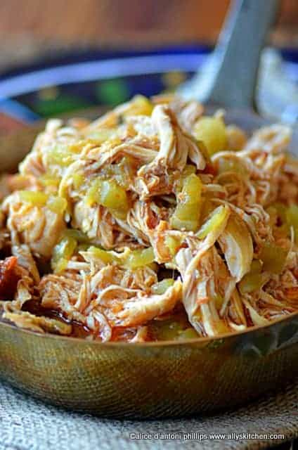 picante chicken tinga